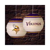 Memory Company Minnesota Vikings 46cm Rice Paper Lamp