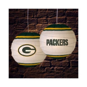 Green Bay Packers 46cm Rice Paper Lamp NFL Football Fan Shop Sports Team Merchandise