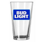 Boelter Brands Bud Light 4-Pack Glass Set, 470ml