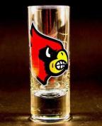 NCAA Licenced Cordial Logo Hype Glass Shot Glass (60ml) School Logo on 60ml Glass Shot Glass