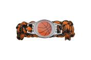 Basketball Bracelet- Paracord Bracelets for Girls and Boys, Basketball Jewellery, Basketball Gift