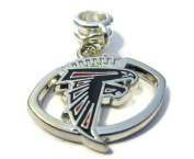 ATLANTA FALCONS OFFICIALLY licenced CHARM WITH CONNECTOR