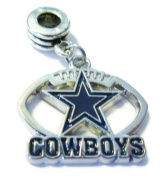 DALLAS COWBOYS OFFICIALLY licenced CHARM WITH CONNECTOR