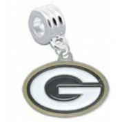 GREEN BAY PACKERS OFFICIALLY licenced CHARM WITH CONNECTOR