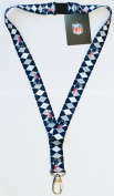 NFL New England Patriots Argyle Lanyard, Blue, One Size