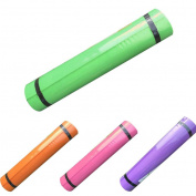 XUANOU 1PC 10MM EVA Thick Durable Yoga Mat Pure Colour Non-slip Exercise Fitness Pad Yoga Mat