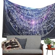 XUANOU Bohemian Rectangle Tapestry Background Wall Beach Mandala Towel Yoga Mat