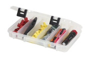 Plano Stowaway Tackle Box with 6 Fixed Compartments, Clear