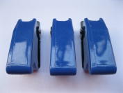5 pcs Safety Flip Cover for Toggle Switch Opaque Blue