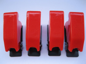 5 pcs Safety Flip Cover for Toggle Switch Opaque Red