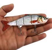 Kemilove 1PC New Minnow Fishing Lures Crank Bait Hooks Bass Crankbaits Tackle Sinking Popper