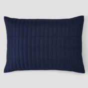 Oake Mirage Quilted Standard Pillow Sham, Navy