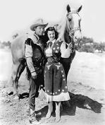 Roy Rogers Dale Evans Rare 8x10 Photo