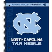 C.R. Gibson 3-Subject Spiral Notebook, North Carolina Tar Heels