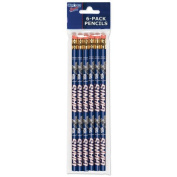 Officially Licenced NFL New York Giants 6-pack Pencils