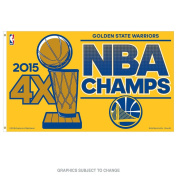 Golden State Warriors 0.9mx1.5m Flag - 2015 Champs