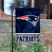 New England Patriots Double Sided Garden Flag