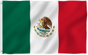 Mexico Flag Polyester 0.9m x 1.5m