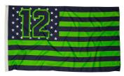 12Flag Nation Seattle Fan Flag