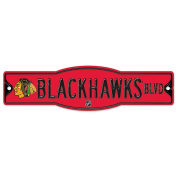 NHL Chicago Blackhawks 27841010 Street/Zone Sign, 11cm x 43cm