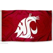 Washington State Cougars WSU University Large College Flag