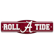 NCAA University of Alabama 89334010 Street/Zone Sign, 11cm x 43cm