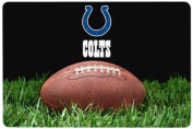 NFL Indianapolis Colts Classic Football Pet Bowl Mat, Large