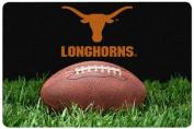 NCAA Texas Longhorns Classic Football Pet Bowl Mat, Large