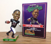 David Johnson Clinton Iowa LumberKings Stadium Promo Bobblehead Arizona Cardinals Running Back SGA