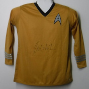 William Shatner Signed Star Trek Large Uniform Shirt - PSA/DNA Authenticated - Autographed Celebrity Memorabilia