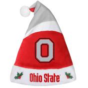 Ohio State Buckeyes Basic Santa Hat - 2016