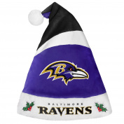 Baltimore Ravens Basic Santa Hat - 2016