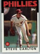 1986 Topps #120 Steve Carlton - Philadelphia Phillies