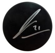 James van Riemsdyk (JVR) Toronto Maple Leafs Signed Black Hockey Puck JSA