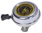 Gravidus Classic Bicycle Bell - Chrome