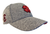 NEW Black Clover Live Lucky USC South Carolina Gamecocks Grey/Red Fitted S/M Hat
