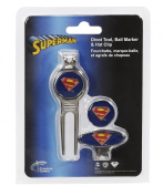 Creative Covers for Golf 26910 Superman Divot Tool & Ball Marker Set