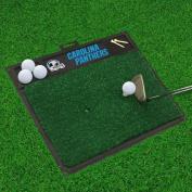 """Carolina Panthers Golf Hitting Mat 50cm """" x 43cm """""""