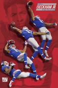 NFL New York Giants, Odell Beckham Jr, 60cm x 90cm Wall Poster