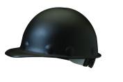Fibre-Metal Hard Hat Injection Moulded Roughneck Fibreglass with 8-Point Ratchet Suspension, Black