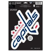 Washington Capitals Official NHL 15cm x 23cm Car Magnet by Wincraft