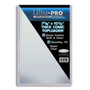 Ultra Pro 18cm - 1.3cm X 28cm Thick Comic Toploader 10ct