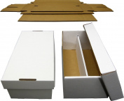 (5) BCW Brand Trading Card Cardboard Graded Shoe Box - GSB