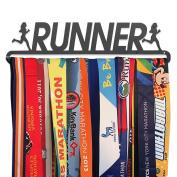GoneForaRun RUNNER GIRL Runner's Race Medal Hanger