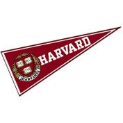 Harvard Pennant Full Size Felt