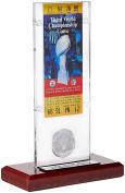 NFL New York Jets Super Bowl 3 Ticket & Game Coin Collection, 30cm x 5.1cm x 13cm , Black