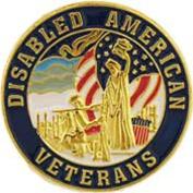 Disabled Veterans Pin 2.5cm