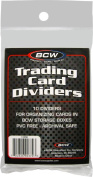 Trading Card Dividers (10)