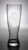 Ohio State Buckeyes Deep Etched Pilsner