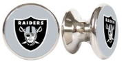 Oakland Raiders NFL Stainless Steel Cabinet Knobs / Drawer Pulls
